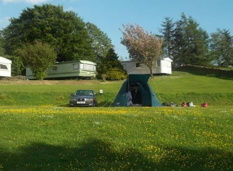 Park of Brandedleys Crocketford, Dumfries and Galloway. Scotland. UK. Camping. Summer. Travel. Holiday. Day Out. Family. Retreat.