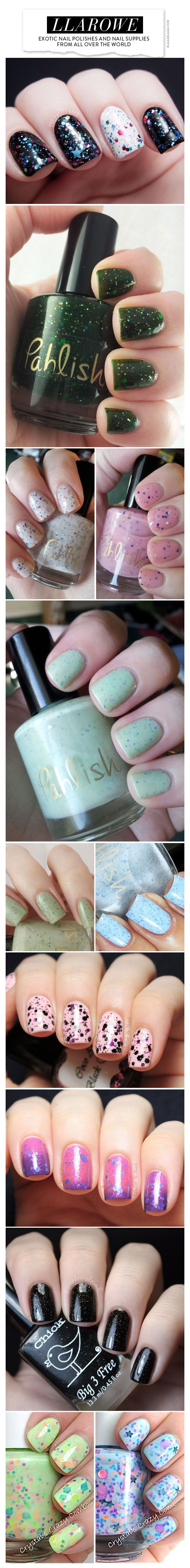 Llarowe – exotic nail polishes from all over the world