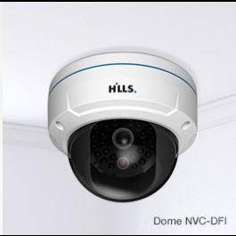 Hills IP Dome camera's 3 Megapixels, NVC-DF1