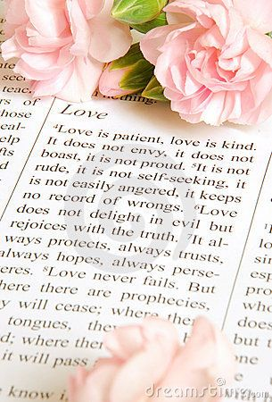 Love chapter in 1Corinthians 13