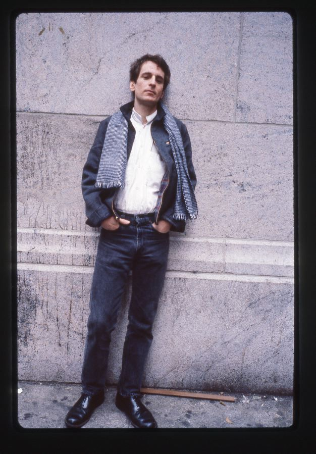SWOON. Alex Chilton shot by Godlis near Grand Central Station early 90s | godlis.blogspot.com