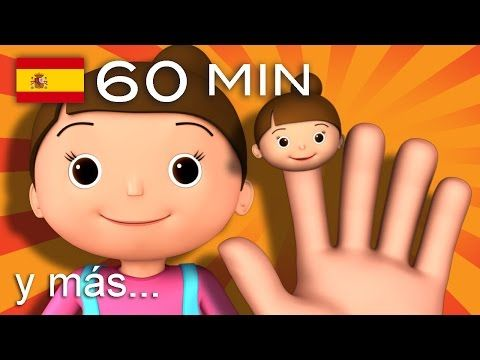 La familia dedo | Y muchas más canciones infantiles | ¡60 min de LittleBabyBum! HD - YouTube