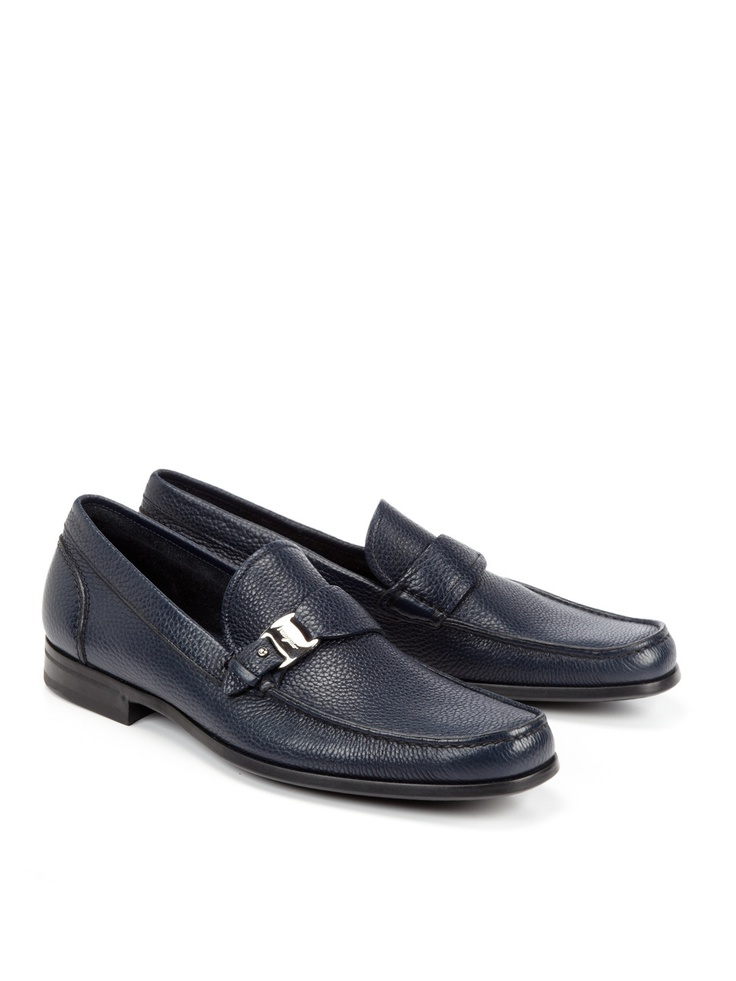 Blue loafers are where its at!