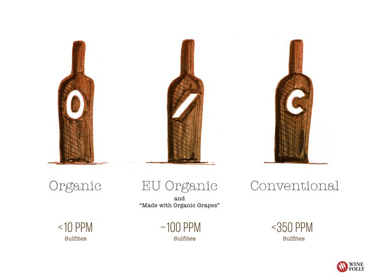 Organic wine vs Conventional Wine Sulfites in wine #Wine #Wineeducation #Sulfites