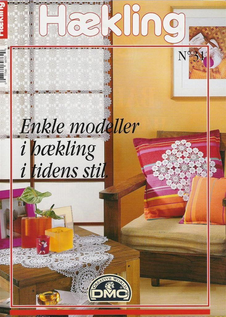 Haekling No31 桌布餐巾窗帘 - 紫苏 - 紫苏的博客