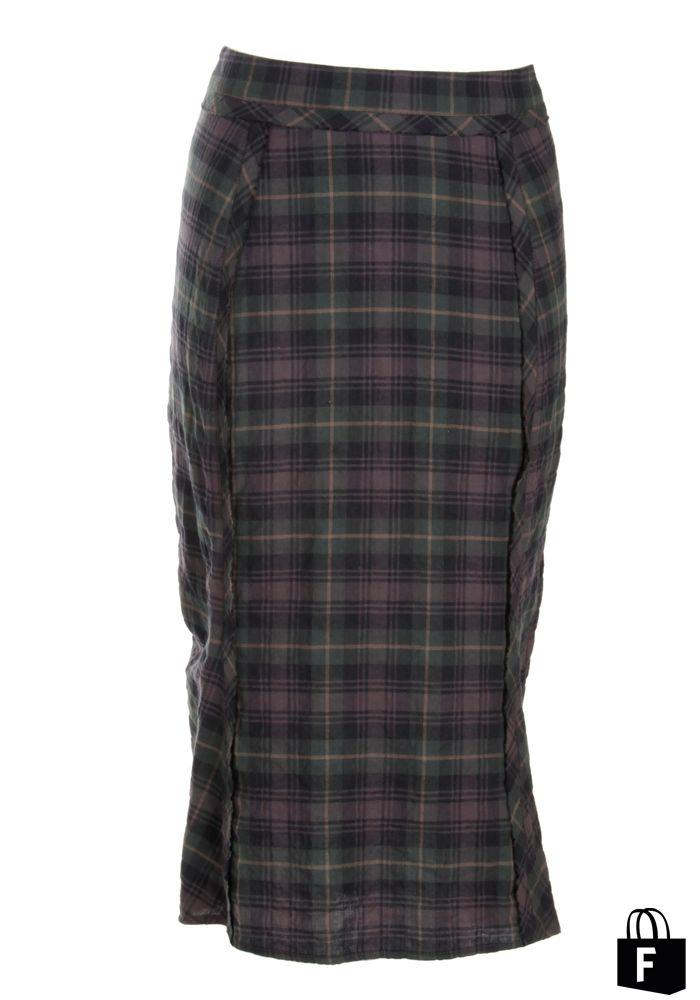 Falda de Elizabeth en Perse 828, disponible en www.tiendafucsia.co