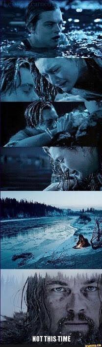 Pero por lo menos, esta vez no se murió congelado. | 17 Memes que solo te darán risa si ya viste The Revenant