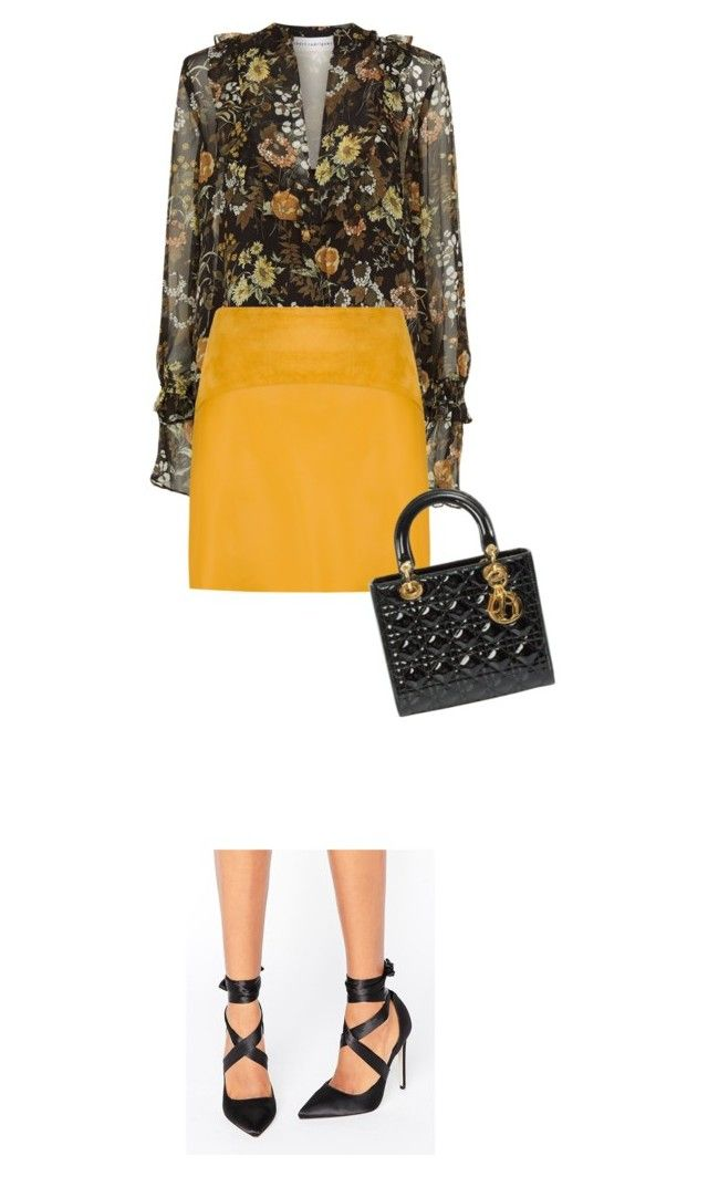 """Autumn Dior"" by indirareeves on Polyvore featuring Robert Rodriguez, EGREY, ASOS and Christian Dior"