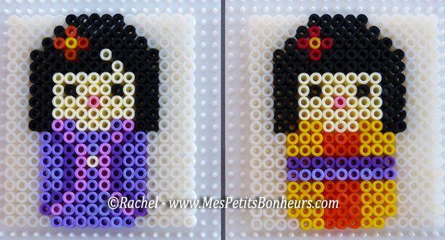 Kokeshi hama beads