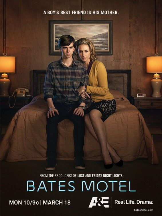 Bates Motel. Brilliant, can't wait to see more. I Love Norma, she's crazy in the best way, she (sometimes!) acts the way I want to but don't dare!