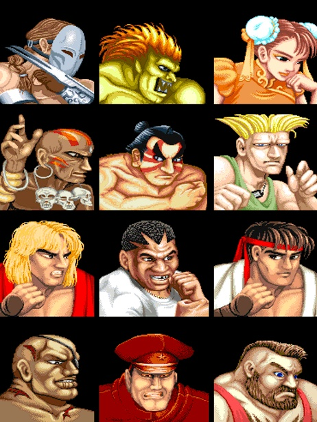 Street Fighter-My heart and soul