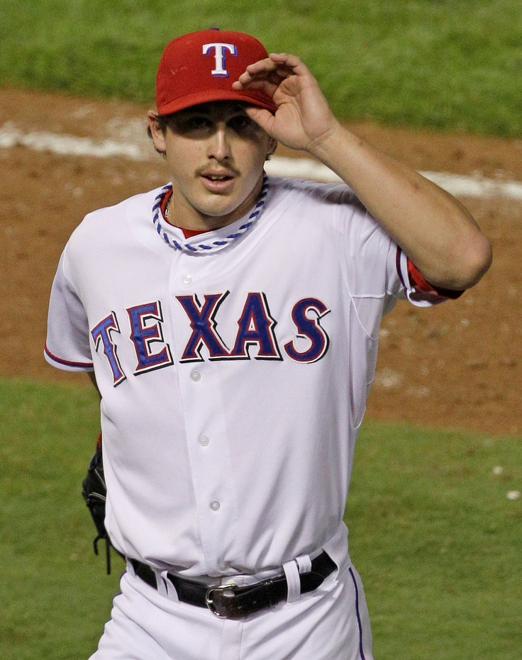 He pitched beautifully the other night - Derek Holland (correct me if I am wrong)