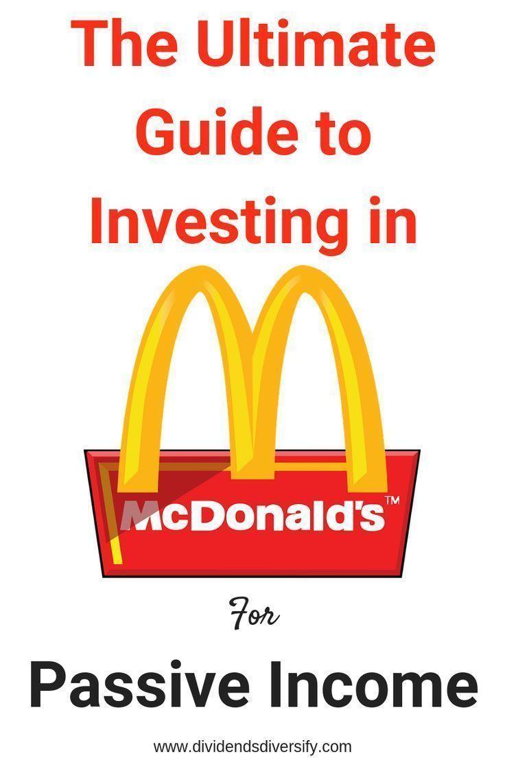 Mcdonald S Dividend Plump And Juicy Investment Portfolio Investing Money Investment Companies