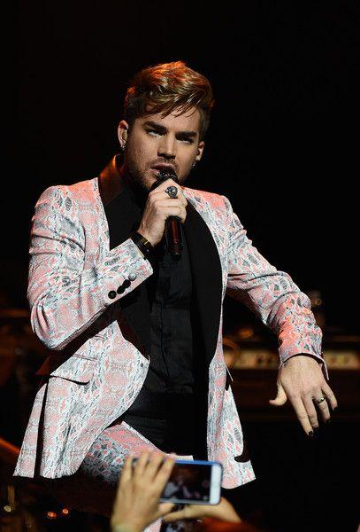 Adam Lambert Photos - Adam Lambert Attends Miami Magazine's Splashion at Fillmore Miami Beach - Zimbio