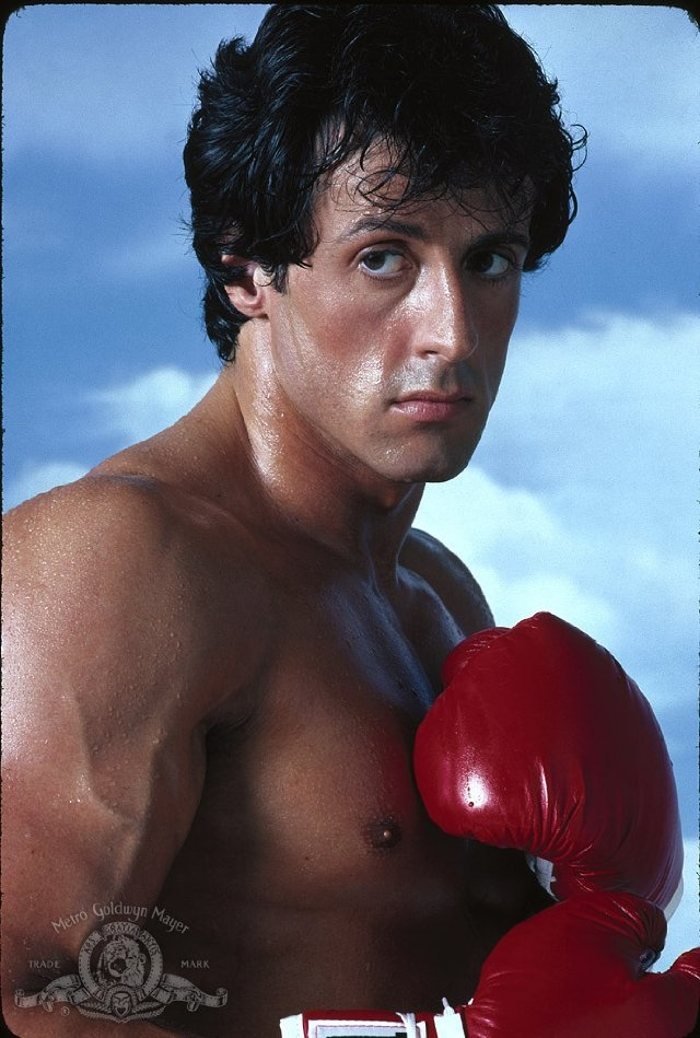 Sylvester Stallone in Rocky III  ....Even though I liked the first one better...