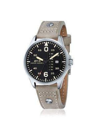 64% OFF AVI-8 Men's AV-4003-03 Hawker Harrier II Tan/Black Stainless Steel Watch