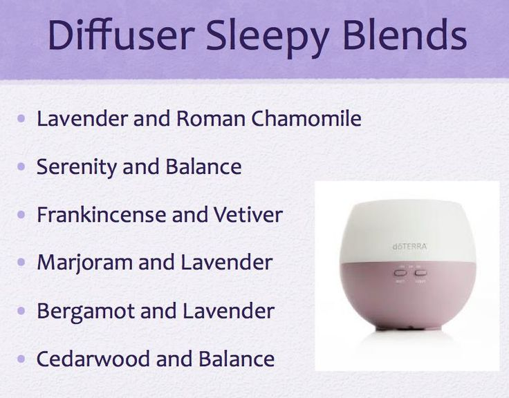 Diffuser Sleepy Blends...my personal favorite is Serenity and Balance, followed by Marjoram and Lavender #doTerra #EssentialOilMamas