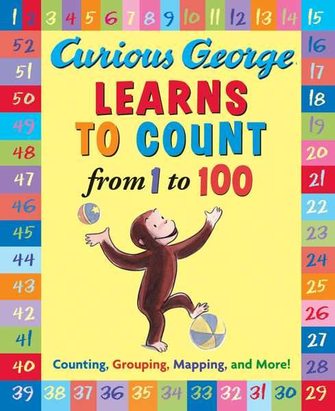 Curious George is a good little monkey, and always very curious. Now George is curious about numbers. Counting from 1 to 10 is easy, but can he count all the way to 100? George has picked the perfect