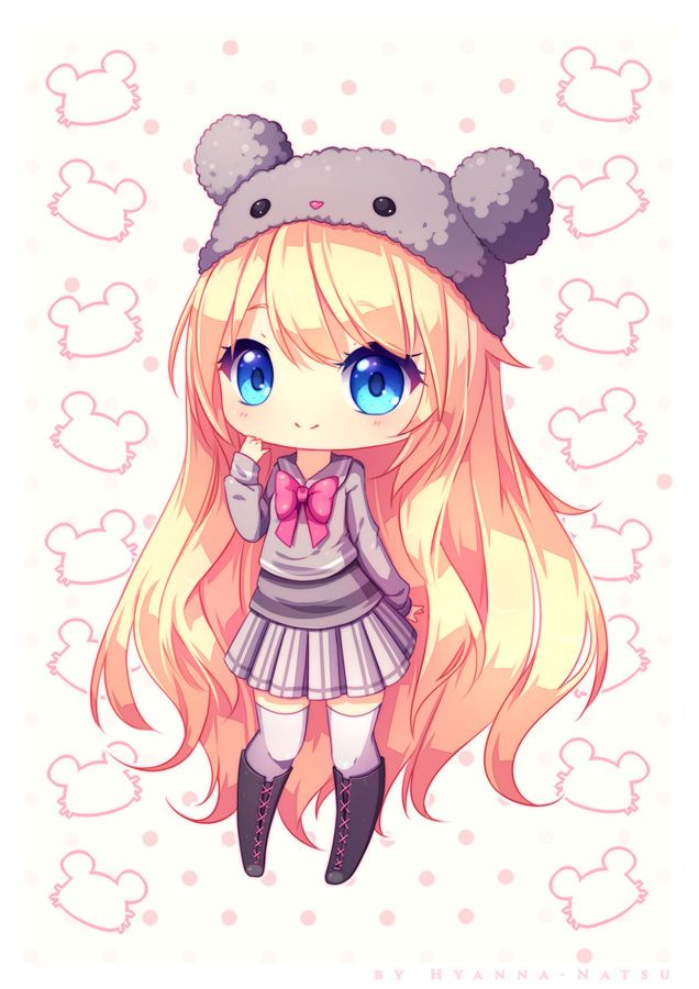 Cellshading Chibi Commission For Xbananapancakes As Gift To CelesteCorinne Yay Merry Christmas Corinne This Drawing Is A