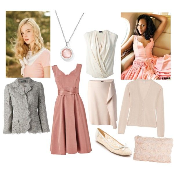 Soft classic ii by mary-86 on Polyvore featuring Phase Eight, Miu Miu, Lanvin, Dolce&Gabbana, Joseph, Kate Spade and Ippolita