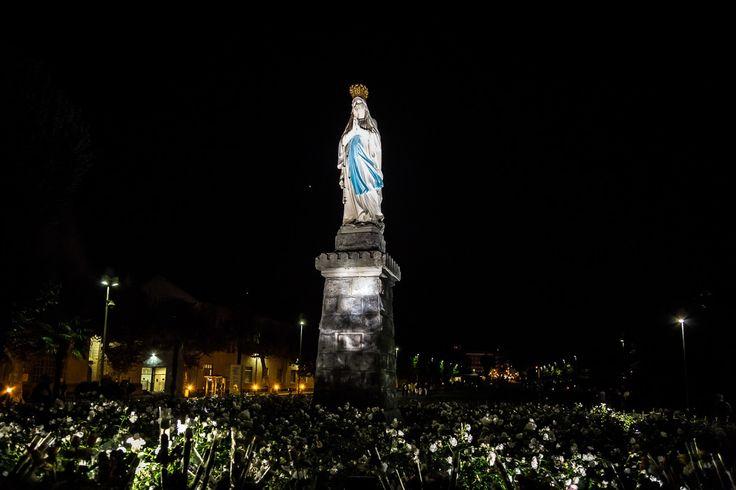 Virgin Mary Maryja Lourdes