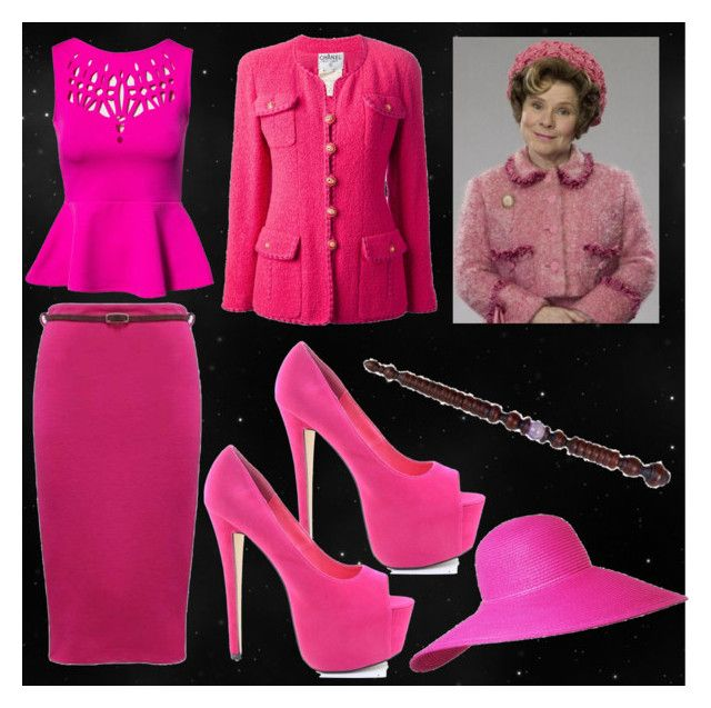 Dolores Umbridge by slytheriner on Polyvore featuring Oneness and Chanel