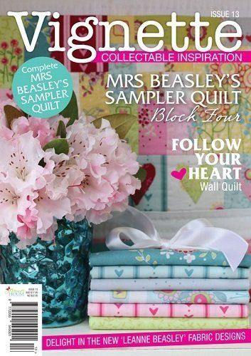 """""""Vignette - Issue 13"""" designed by Leanne Beasley for Leanne's House."""