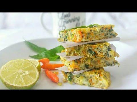 Resep dan Cara Membuat Omelet Sayur Asli Enak
