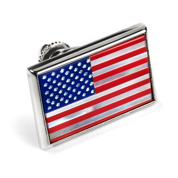 American Flag Lapel Pin, AFPR02 American Flag Lapel Pin