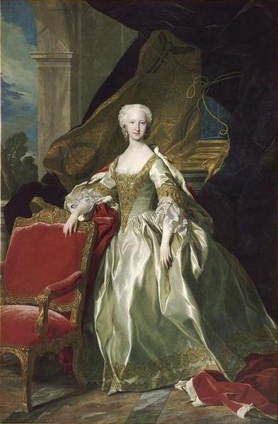 María Teresa Rafaela de Borbón (Madrid, 11 de junio de 1726 - Versalles, 22 de julio de 1746) infanta de España y Delfina de Francia.Era hija de Felipe V de España, Rey de España y de su segunda esposa, Isabel de Farnesio.