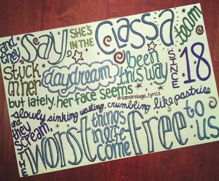 ed sheeran song lyrics drawings tumblr - photo #26