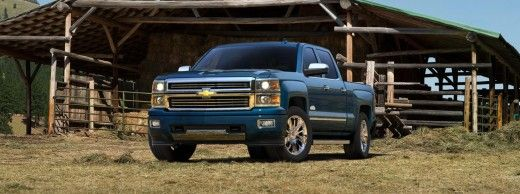 2015 Chevy Silverado High Country Blue
