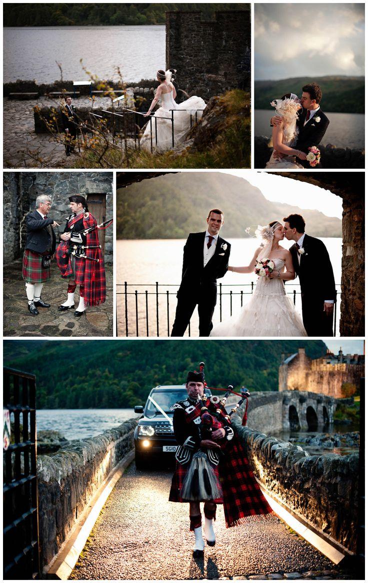 scottish wedding at eilean donan castle by Contemporary Wedding