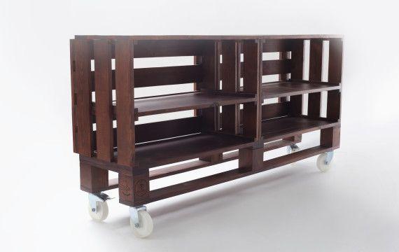 Тумба «OKLAHOMA» #Designer #Furniture #Kiev #pallet #wood #дизайнерская #мебель #киев #тумба