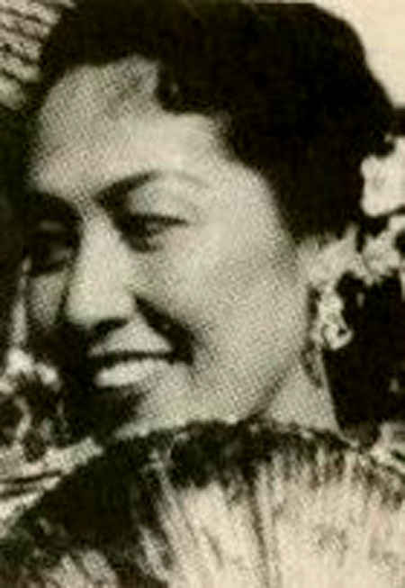 indonesian 50's actress; Fifi Young. with Chinese - French blood, she was born in Aceh.