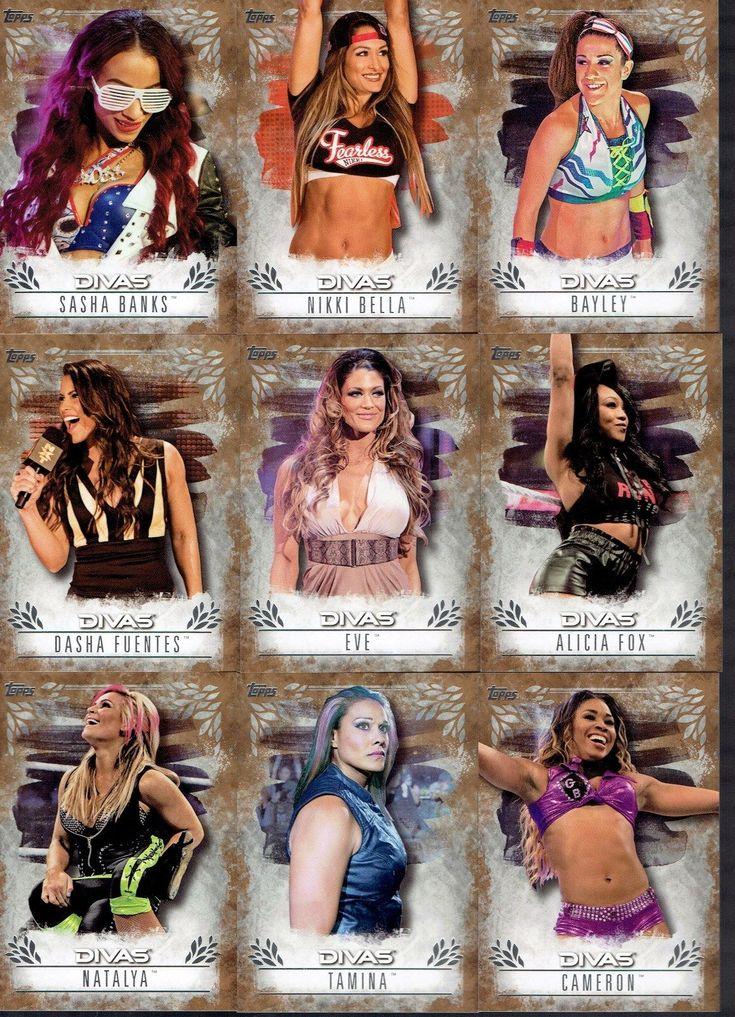 2016 TOPPS WWE UNDISPUTED 9 CARD BRONZE DIVAS LOT #/99 BAYLEY SASHA BANKS BELLA - http://bestsellerlist.co.uk/2016-topps-wwe-undisputed-9-card-bronze-divas-lot-99-bayley-sasha-banks-bella/