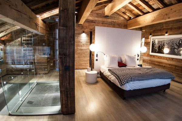 Chalet Luxe Méribel by Vanessa Andrieux, via Behance