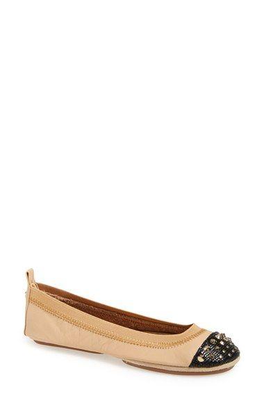 Yosi Samra 'Samantha' Foldable Ballet Flat (Women)