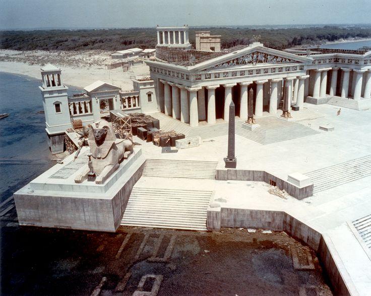 The epic sets depicting ancient Alexandria