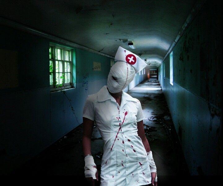 Scary Nurse Costume Idea