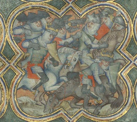 Brigandines - Bib. Ste. Genevieve MS.777 Decades, folio 7r, 1370, Frankrijk