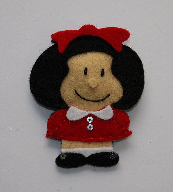 Mafalda by Lidia!!, via Flickr