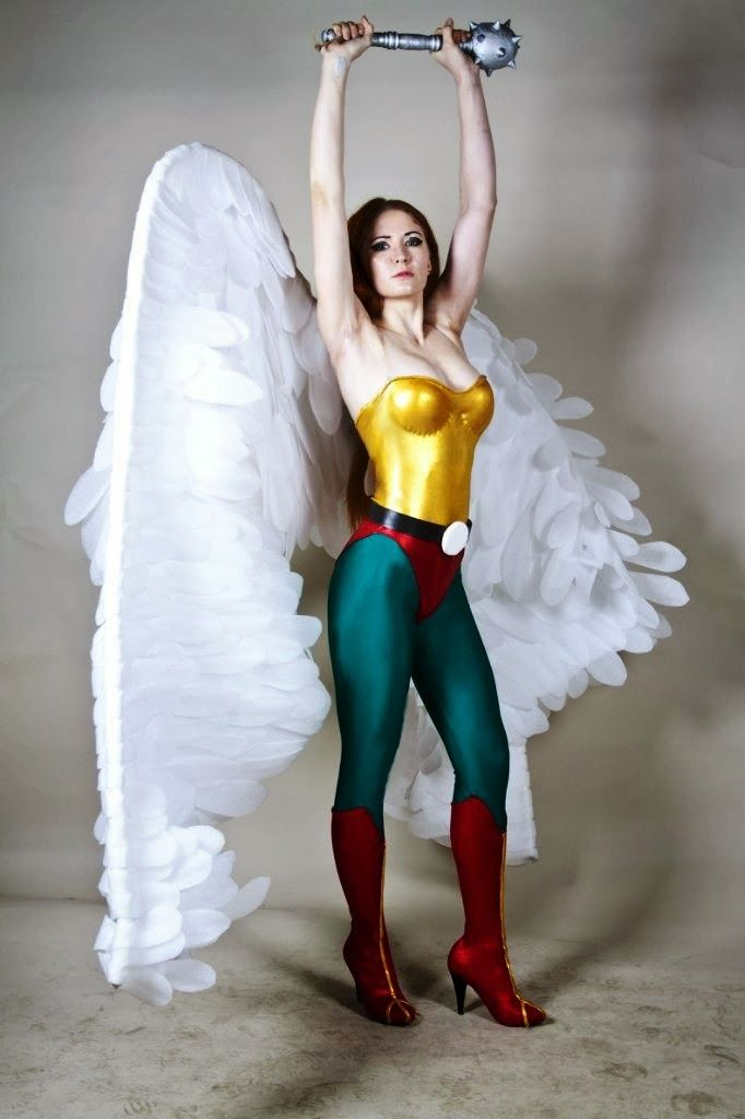 Hawk Girl from Justice League | Beautiful Cosplaying Women ...