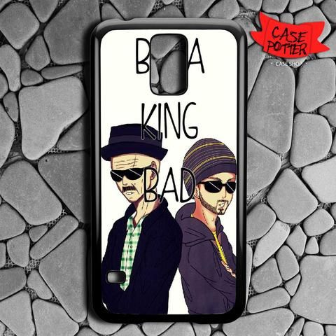 Art Breaking Bad Heisenberg And Jesse Samsung Galaxy S5 Black Case