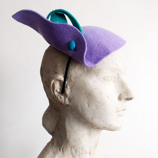 OTILIA Fascinator hat made by Eventivity Accessorize
