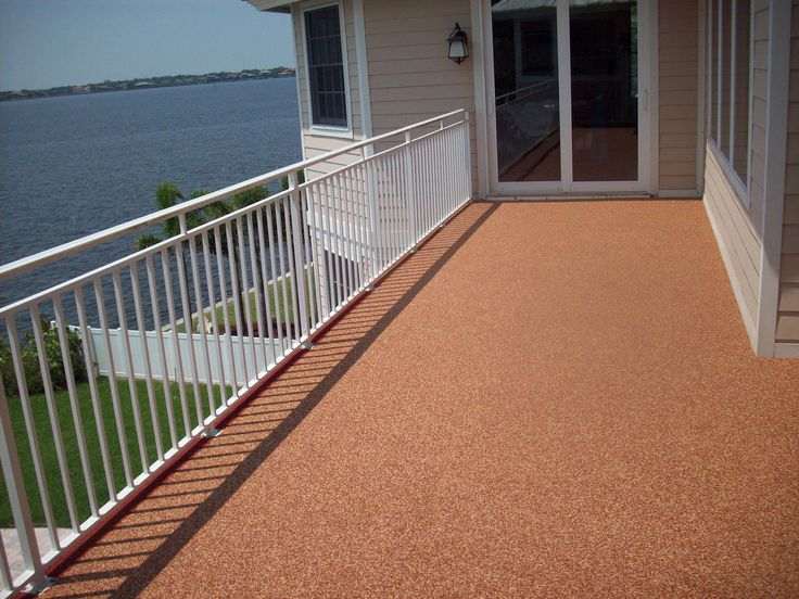 Prodeck Rubber Patio, Rubber Decking Outside Patio, Pour In Place Epdm  Rubber