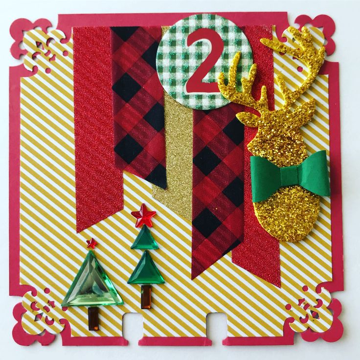 Christmas Advent Memory Dex Card by Haley Marble