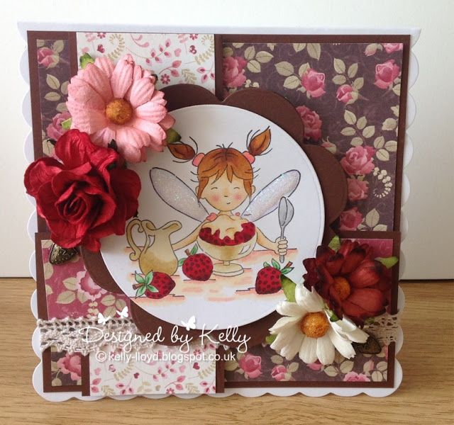 LOTV - June Fairy with Always and Forever Paper Pad by Kelly Lloyd