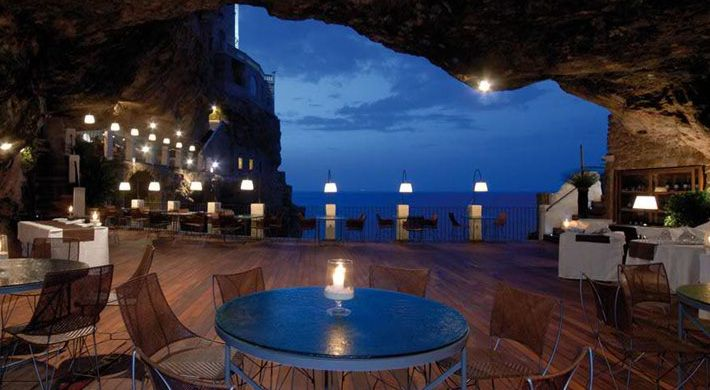 Eat Pasta Inside Of A Cave In Italy