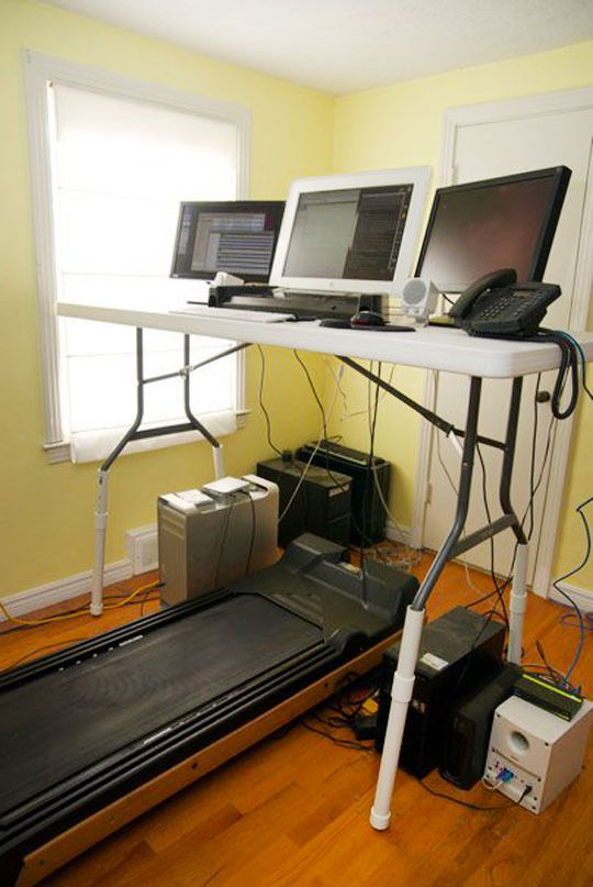 110 best Do It Yourself! images on Pinterest | Treadmill desk ...
